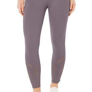 NWT Ideology Women's Perforated Ankle Leggings